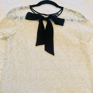 Juicy couture lace top size s